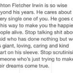 RT @THE5SOSIMAGINE: If you send hate to Ashton, you need to rethink your life and your goals. http://t.co/WCCcAj1YXg