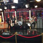 RT @GMA: A sneak peek of @5SOS getting ready for their @GMA performance! #5SOSGMA http://t.co/Z94C4tMEKC
