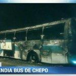 RT @tvnnoticias: Otra imagen de bus de la ruta Chepo-Corredor, que se incendió en Paso Blanco. #Panama http://t.co/WjK77xvV50
