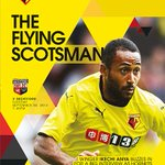 RT @OPublishingTeam: Ikechi Anya features on the #WatfordFC vs Brentford programme cover. http://t.co/7OlclnvF4e http://t.co/Wcq0lzbQ1J