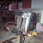 Accidente kra 46 con 85. foto de @HENRYFOREROJ http://t.co/76EVdVWKVJ