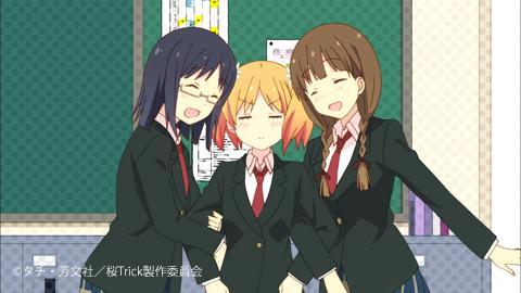 左)大崎秋子(おおさき・あきこ)右)川藤藍(かわとう・あい)#桜Trick
