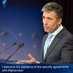 NATO SG welcomes signing of security agreements with #Afghanistan http://t.co/gbLhdn4fhd http://t.co/Gu3aZnA712