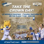 Bring your #Royals blue to the Plaza this morning starting at 7:30am for #TakeTheCrown Day! http://t.co/JewGkIqhtU http://t.co/4c3WVPVXHs