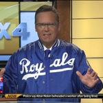 Who else loves @NickVasos vintage @Royals jacket?! Are you sporting blue on this #BlueTuesday?? http://t.co/YBdFLX4z7K