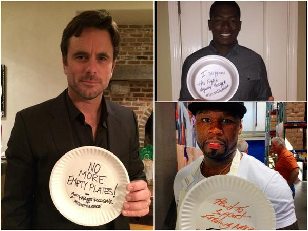 It's the last day of #HungerActionTN but not too late to share your support! Join @50cent @CharlesEsten & @CotySense http://t.co/iRtVLLCuz3