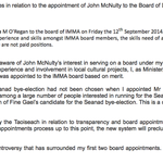 RT @TJ_Politics: Statement from Heather Humphreys on McNulty-gate', says FG officials told her of McNulty's interest in IMMA board http://t.co/8Lf86zdhgN