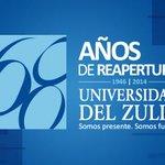 Hoy nuestra ilustre Universidad del Zulia (LUZ), cumple 68 años desde su reapertura. http://t.co/TaPi7SiDBV