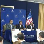 Inicia conferencia de prensa sobre #FomilenioII con autoridades de MCC y GOES http://t.co/uEKbkVYOOl