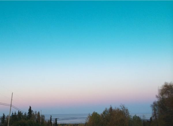 Morning sky over Anchorage  #nofilter #Alaska http://t.co/zTQ8Waicxo