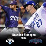 RT @TCU_Baseball: CWS-MLB Playoffs: @bfinny29 started in the CWS in June & is now a member of the @Royals 25-man playoff roster. http://t.co/2i1RMyMIEE