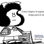 La frase #PuraVida de hoy de es Mafalda, la niña argentina de 50 años #NM935 http://t.co/j6ywNynJox