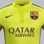 RT @FCBarcelona_es: El equipo estrenará dentro de dos horas la nueva tercera equipación de esta temporada http://t.co/iQStRGTER2 http://t.co/7lrluskMfp