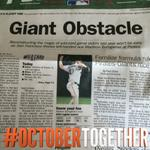 RT @SFGiants: Good morning from Pittsburgh…A snapshot of the Pittsburgh Gazette Sports Page #OCTOBERTogether #SFGiants http://t.co/XBIdq7YceG