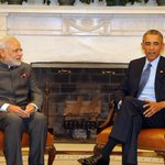 #ModiMeetsObama RT @MEAIndia: India-US Summit discussions underway in restricted format. https://t.co/fOpNP1BkZU
