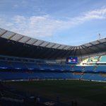 See, told you the weather isnt too bad in Manchester, @OfficialASRoma! Great evening for #cityvroma! http://t.co/1rR2sn0Fwh