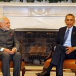 RT @sayoniaiyar: #ModiMeetsObama and the talks are still on, briefing expected shortly. What note will PM's US visit end on? @ibnlive