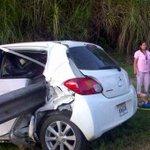 5 heridos deja accidente después del puente Centenario. Info @joseFFossatti #TuReportas http://t.co/vqDvvDvoqw