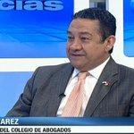 Presidente Colegio de Abogados, José Álvarez:No conozco que Moncada Luna tenga funciones como profesor universitario. http://t.co/mExEjbmQWk