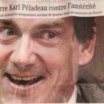 RT @LesZapartistes: Lexcellent Jacques Nadeau sest surpassé avec cette photo vampiresque. Attention que PKP ne le croise pas à cheval. http://t.co/xHYsZ1HOvt
