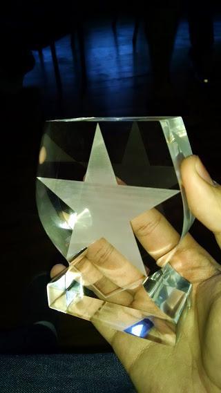 Gracias @authzero por darme este hermoso reconocimiento: el auziro!!! http://t.co/Dr2jaTZ4Bx