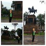 @NoticiaSMRTV transmitiendo desde la Plaza Morelos en el marco del aniversario del natalicio de José María Morelos http://t.co/kyerlc4LgX