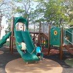 Todo listo en el parque Las Nieves para la inauguración de esta gran obra para la ciudad. http://t.co/Z2DI7RYvho