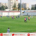 Imagen del partido que enfrenta al @FCBATE y al Athletic Club #lezama #UYL http://t.co/wpOFKMQONZ