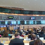 RT @moconchuir: @Europarl_EN Packed room at the hearing of Commissioner designate #Hahn #EPhearings2014 http://t.co/5AGJsPyTtN