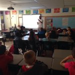 RT @PotterGrayPride: @WxOrNotBG presenting to 4th graders about storm chasing & meteorology #livingscience http://t.co/bjKrp5SxqM
