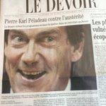 RT @DavidSanterre: Jacques Nadeau s'est gâté ce matin dans @LeDevoir ! http://t.co/IF4af7aYUc