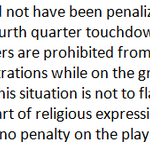 NFL says Chiefs S Husain Abdullah, a devout Muslim, should not have been penalized for an end zone celebration. http://t.co/MECe6pzC5t