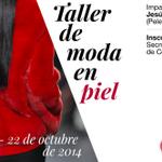 RT @martatorregrosa: Ya puedes apuntarte en @fcomnavarra al Taller de moda en piel impartido por @JesusLorenzoTW http://t.co/uiYFtq68rT http://t.co/zmjGGBgAK6