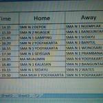 RESMI : Jadwal PLAY OFF #TJPAF2014YK , Rabu, 1 Oktober 2014 cc : @tribunjogja @TJPAF2014_YK :) http://t.co/N3FNUuQFru