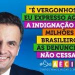 RT @_souaecio: Aécio diz que falta indignação a Dilma sobre erros na Petrobras. http://t.co/0j3zpehAv2