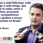 RT @_souaecio: Aécio chama eleitores p/ q escolham a decência na política. #RumoaoSegundoTurno @xicograziano http://t.co/FNMFoAnJb1 http://t.co/3N6bZ0RbC6