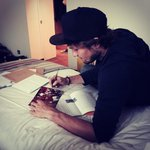 RT @BlindDaley: Just answer some fan mail! thanks for all the support!???? #MUFC http://t.co/DD8fiuM9Us
