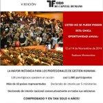 Confirmado! Del 12 al 14 de Noviembre llega el evento de #GestiónHumana #rrhh por excelencia en Uruguay! http://t.co/VjCzmWz0lb