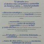 ¿Por qué es valioso #ElSalvador como destino de inversión para los servicios empresariales a distancia? | #ForoSED http://t.co/kA4CpywTSO