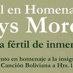 Esta noche a partir de las 20:00 horas, se rendirá homenaje a #GladysMoreno en la @manzanauno cc. @CulturasSC http://t.co/48aPpoW8od