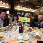 RT @DanaCN: @girlmeetsgeek um SECOND best table. We r best. Table 4. #DisruptMN @larsleafblad @alfonsowenker @vanessafive http://t.co/HDFNIHEnOc