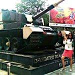 Hume hamara baap mil gaya! #Tamanchey ka baap yeh Military Tank. Haha. Proud of the Indian Army!!! http://t.co/qkjVv1bHvI