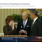March 27, 2013 -- Julia Pierson Secret Service swearing in at WH http://t.co/IEpYnFRcge http://t.co/IP71Sq3uUz