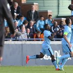 RT @MCFC: MATCH SHOT: Thierry Ambrose jumps for joy after putting City into the lead #mcfc #UYL http://t.co/kzsZrMbeEI