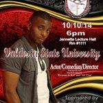 Pass the word along! Kel Mitchell is coming to VSU!! #ValdostaState http://t.co/nDmACVFY3Q