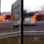 Truck Fire on M50: Motorists Advised to Take Alternative Route http://t.co/Fgq753oyCF http://t.co/59JM12gswc