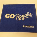 RT @Royals: Tonight all fans will receive a blue #Royals rally towel! #TakeTheCrown http://t.co/STZrqnFKp3