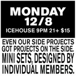 #LastBlowoutEver Monday 12/8 @IcehouseMPLS Even our side projects got projects on the side. http://t.co/bdy46BeRP4