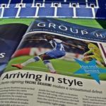 """""""Chegar em estilo"""", escreve a @ChampionsMag sobre a """"estreia sensacional"""" de #Brahimi na @ChampionsLeague. #UCL http://t.co/J6F7CAfkVr"""