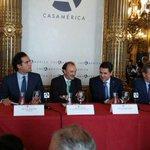 RT @JuanOrlandoH: Apertura e intervención de la Tribuna EFE, moderado por Presidente y Directora Internacional de la Agencia EFE http://t.co/u8qSMb77ZC